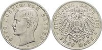 5 Mark 1901  D Bayern Otto 1886-1913. Kl.R...