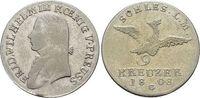 9 Kreuzer 1808  G Brandenburg-Preussen Friedrich Wilhelm III. 1797-1840... 149,00 EUR  +  5,00 EUR shipping