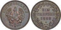 Für Hohenzollern, CU-Kreuzer 1 1852  A Brandenburg-Preussen Friedrich W... 189,00 EUR  +  5,00 EUR shipping