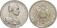3 Mark 1913  A Preußen Wilhelm II. 1888-1918. Min.Rf., vorzüglich  22,00 EUR  +  5,00 EUR shipping
