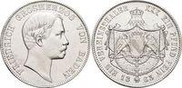 Vereinstaler 1863 Baden-Durlach Friedrich I. 1852-1907. Min.Kr.a.Vs., ... 249,00 EUR free shipping