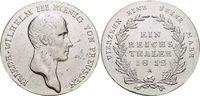 Taler 1812  A Brandenburg-Preussen Friedrich Wilhelm III. 1797-1840. K... 169,00 EUR  +  5,00 EUR shipping