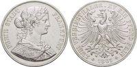 Doppeltaler 1861 Frankfurt-Stadt  Kl.Kr., fast vorzüglich  195,00 EUR  +  5,00 EUR shipping