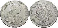 Konventionstaler 1762 Württemberg Karl Eugen 1744-1793. sehr schön +  385,00 EUR free shipping