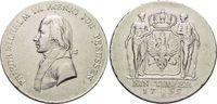 Taler 1799  B Brandenburg-Preussen Friedrich Wilhelm III. 1797-1840. se... 249,00 EUR free shipping
