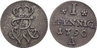 Pfennig 1790  A Brandenburg-Preussen Fried...