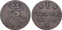 Pfennig 1796  A Brandenburg-Preussen Friedrich Wilhelm II. 1786-1797. s... 19,00 EUR  +  5,00 EUR shipping