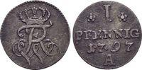 Pfennig 1797  A Brandenburg-Preussen Friedrich Wilhelm II. 1786-1797. s... 15,00 EUR  +  5,00 EUR shipping