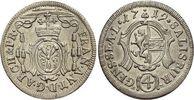 4 Kreuzer(Batzen) 1719 Salzburg-Erzbistum ...