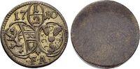 Einseitiger 1/2 Kreuzer 1710 Salzburg-Erzb...