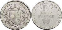 1/4 Taler 1810  FW Waldeck Friedrich 1763-...