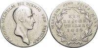 Taler 1814  A Brandenburg-Preussen Friedri...