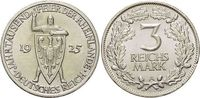 3 Mark 1925  A Weimarer Republik  Winz.Rf....