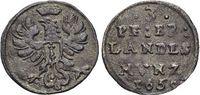 3 Pfennig 1658 Brandenburg-Preussen Friedr...