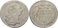 1/3 Taler 1772  A Brandenburg-Preussen Fri...