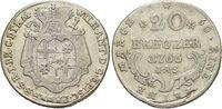 20 Kreuzer 1766 Paderborn, Bistum Wilhelm ...