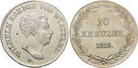 10 Kreuzer 1818 Württemberg Wilhelm I. 181...