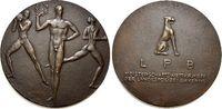 Bronze-Guss-Medaille 1922 Medaillen von Ha...