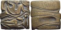 Bronze-Gussplakette o.Jahr 1972 Medaillen ...