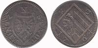 4 Pfennig 1764 Nürnberg Stadt  Very Fine
