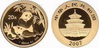20 Yuan 2007 China Panda Bear. BU in Capsule