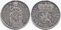 10 Stuiber 1749 Niederlande / Provinz Holl...