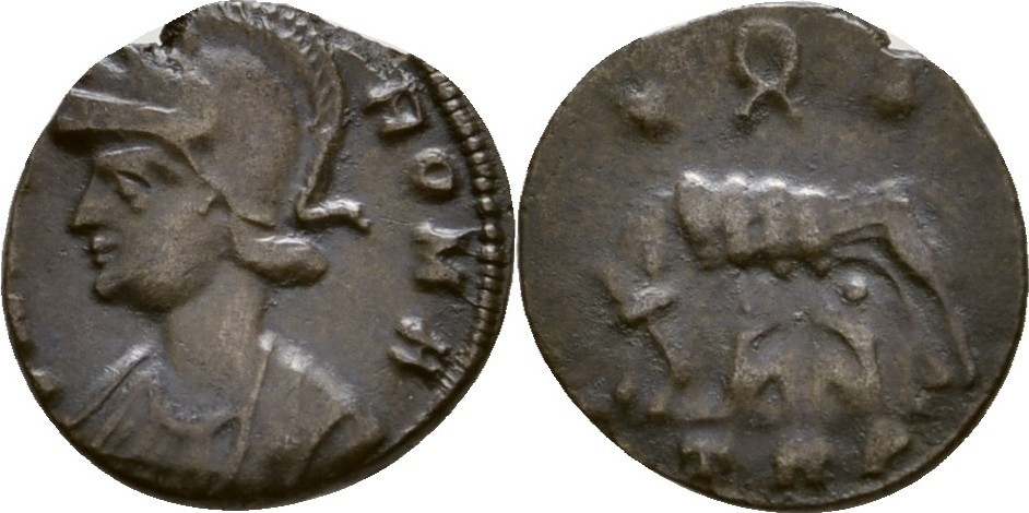 Follis 313 314 Römische Kaiserzeit Urbs Roma Vf Ma Shops