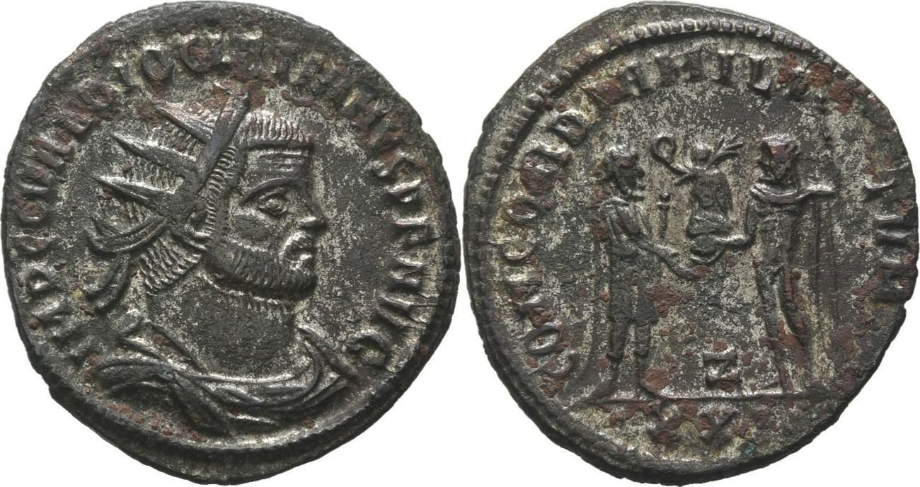 RÖMISCHE KAISERZEIT Antiochia Antoninian 293-295
