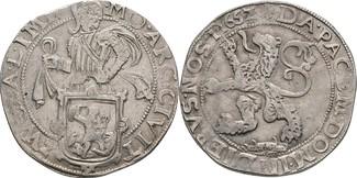 Löwentaler 1652 Niederlande Zwolle  ss