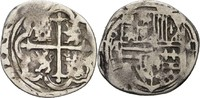 1/2 Real 1558-1665 Spanien Bolivien Potosi...