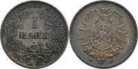 Mark 1874 F Deutsches Reich Stuttgart  vz