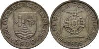 5 Escudo 1935 Portugal Mosambik  ss