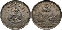 Silbermedaille 1803 Hamburg  kl. Kratzer, ss+