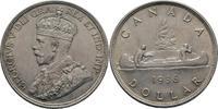 Dollar 1936 Canada George V., 1910-1936 ss+