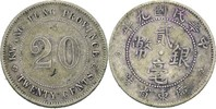 20 Cents 1920 China - Kwang Tung Province  ss