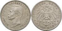 5 Mark 1895 Hessen Ernst Ludwig, 1892-1918 Kratzer, Randfehler, ss-  185,00 EUR  +  3,00 EUR shipping
