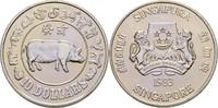 10 Dollars 1983 Singapur Jahr des Schweines fast Stempelglanz  17,00 EUR  +  3,00 EUR shipping