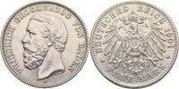 5 Mark 1901 Baden Friedrich I., 1856-1907 ...