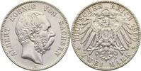 2 Mark 1900 Sachsen Albert, 1873-1902 kl. Kratzer, ss  55,00 EUR  +  3,00 EUR shipping