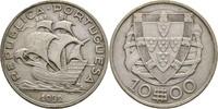 10 Escudos 1932 Portugal Segelschiff ss  15,00 EUR  +  3,00 EUR shipping