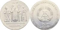 20 Mark 1979 DDR Berlin Gotthold Ephraim Lessing Kontaktmarken, prfr  50,00 EUR  +  3,00 EUR shipping