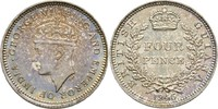 Four Pence 1945 BRITISH GUIANA AND WEST IN...