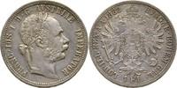 Gulden Florin 1882 Austria Habsburg Wien Franz Joseph, 1848-1916 vz  25,00 EUR  +  3,00 EUR shipping