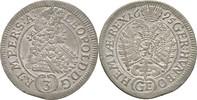 3 Kreuzer 1695 RDR Böhmen Prag Leopold I., 1657 - 1705. vorzüglich  85,00 EUR  +  3,00 EUR shipping