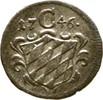 Einseitiger Pfennig 1746 Bayern München Maximilian III. Joseph, 1745-17... 35,00 EUR  +  3,00 EUR shipping
