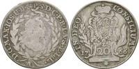 20 Kreuzer 1766 Bayern Amberg Maximilian III. Joseph, 1745-1777 f.ss/ss  21.44 US$ 20,00 EUR  +  3.22 US$ shipping