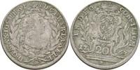 20 Kreuzer 1763 Bayern München Maximilian III. Joseph, 1745-1777 f.ss/ss  21.44 US$ 20,00 EUR  +  3.22 US$ shipping