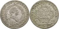 20 Kreuzer 1779 Bayern München Karl Theodor, 1777-1799 ss  37.52 US$ 35,00 EUR  +  4.29 US$ shipping