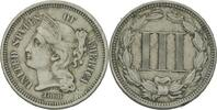3 Cents 1868 USA  ss