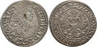 Schlesien Württemberg Öls 3 Kreuzer Sylvius Friedrich, 1668-1697